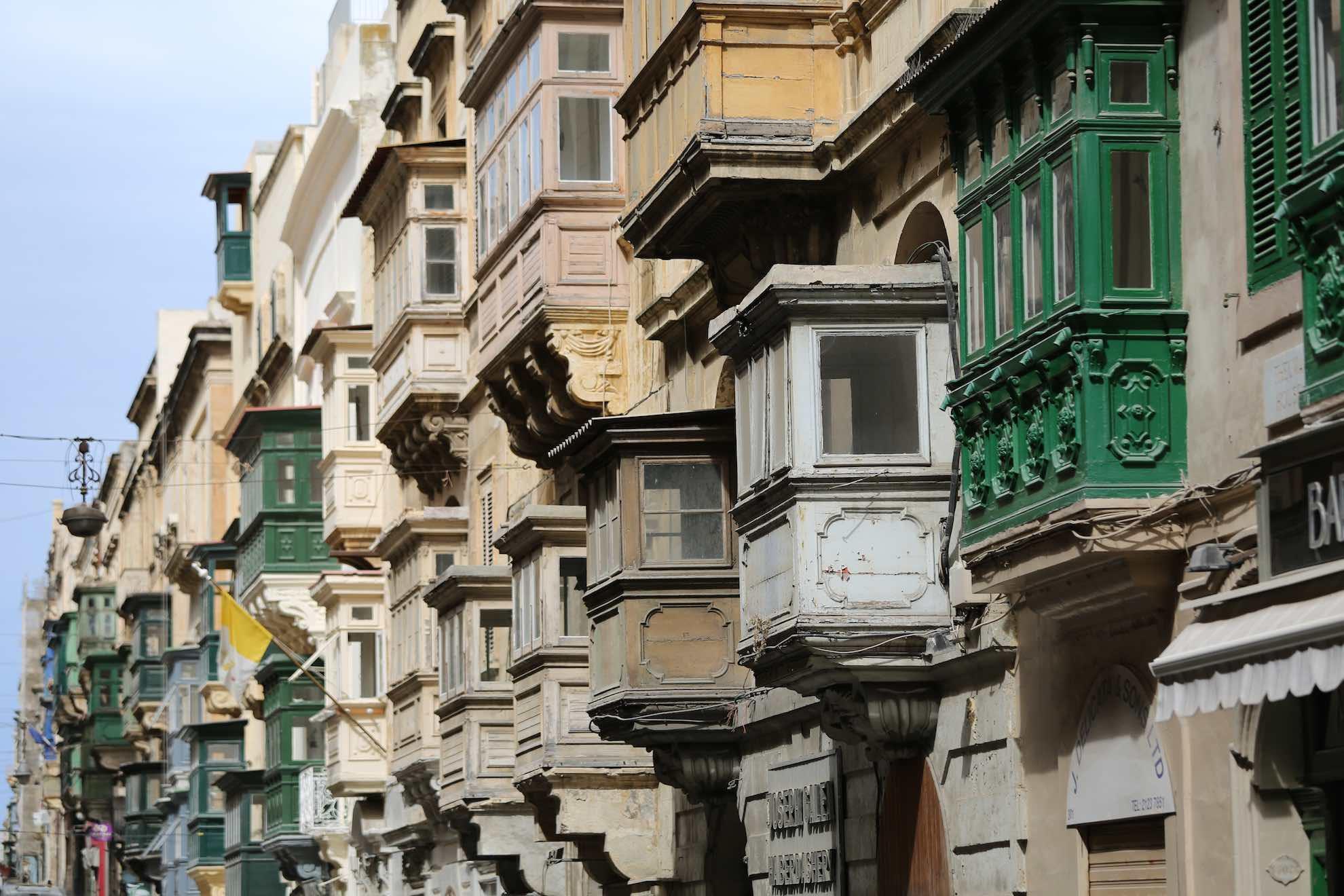 Die Hauptstadt Valletta ist eine alte Ritterstadt.