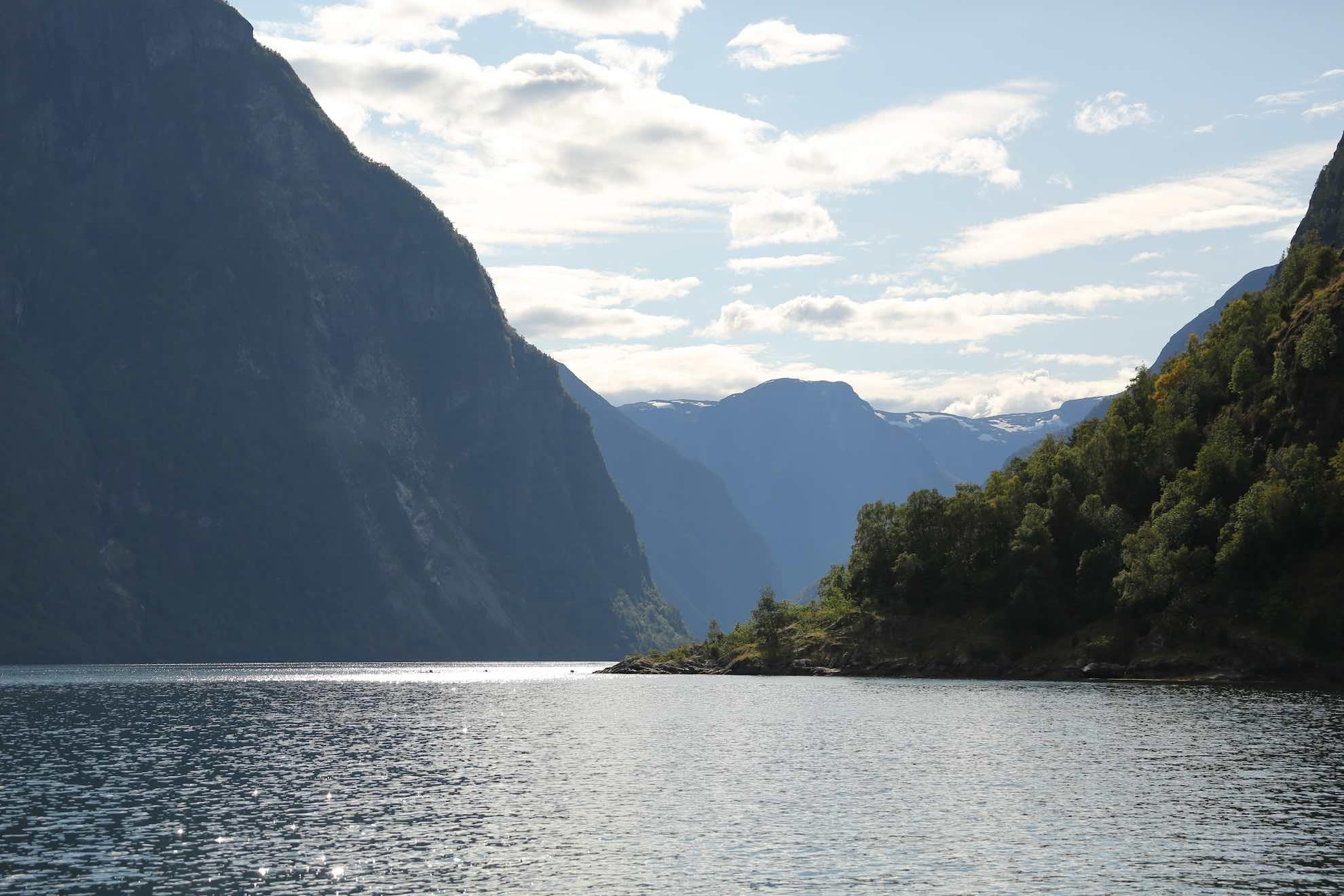 Insgesamt gibt es über 1.000 Fjorde in Norwegen.