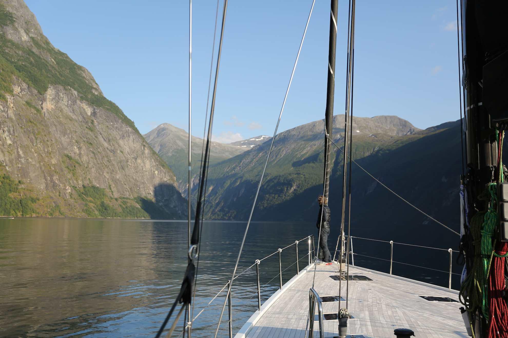 Der Fjord gehört seit 2005 zum UNESCO-Weltkulturerbe.
