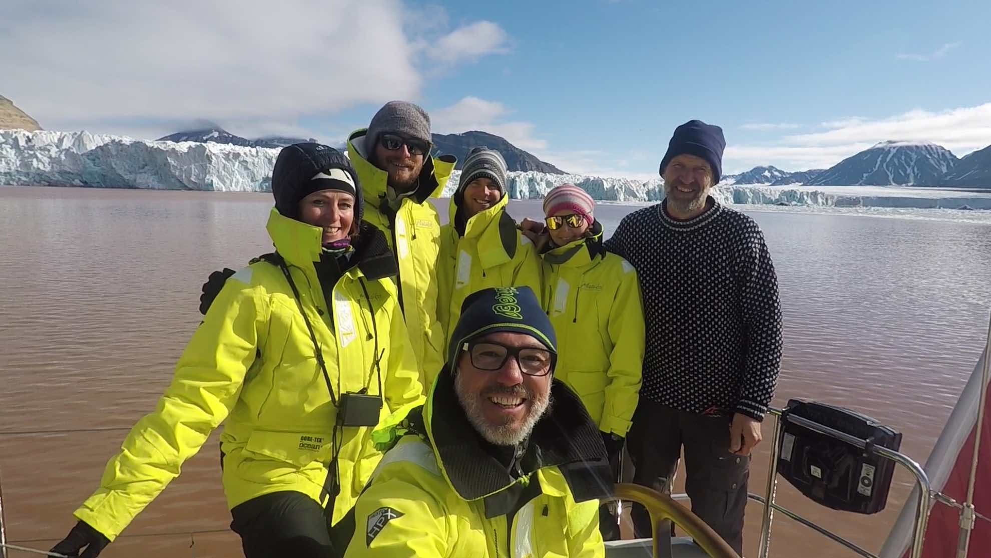Unsere Svalbad-Crew.