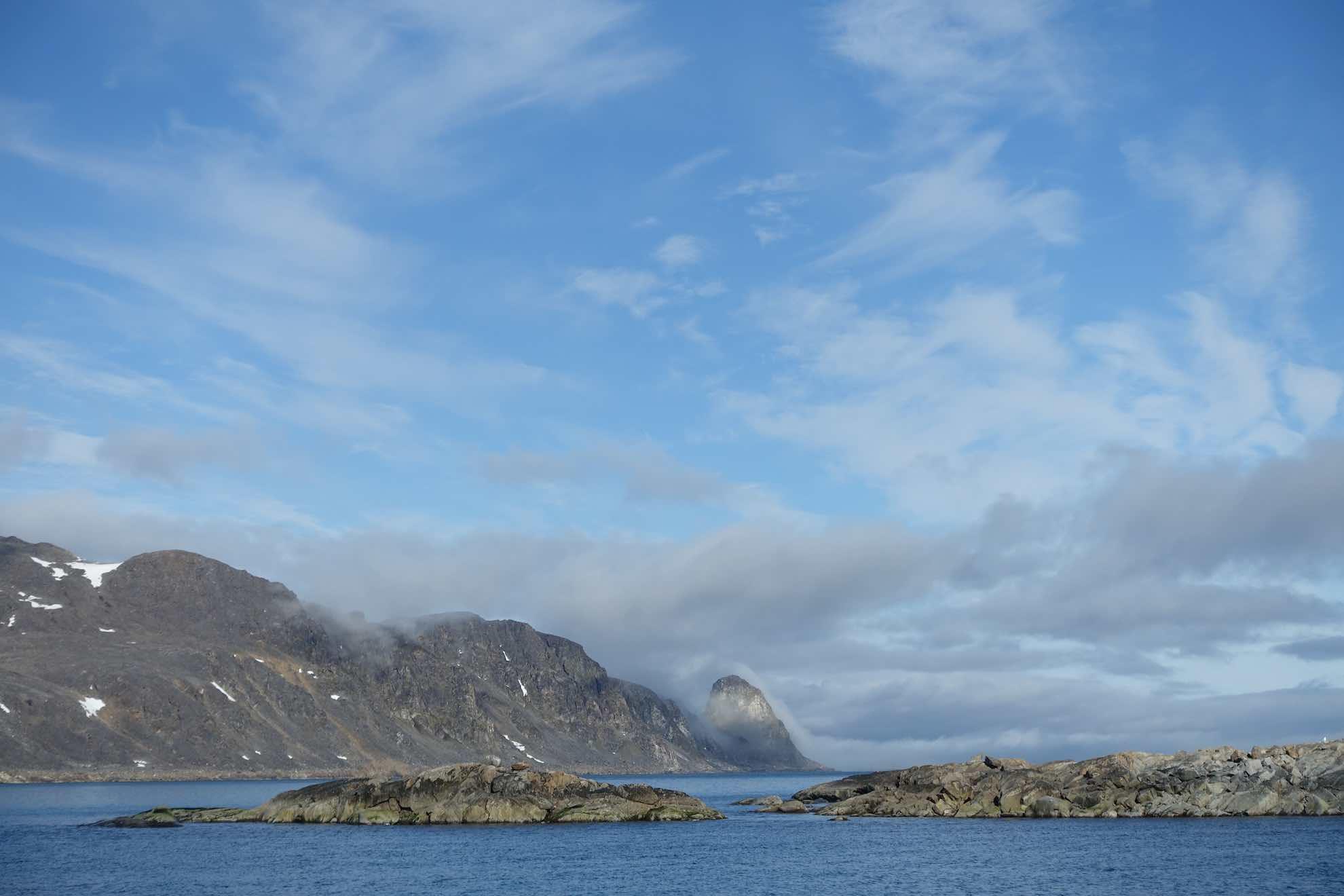 Heute wird es bis zum Kongsfjord gehen.