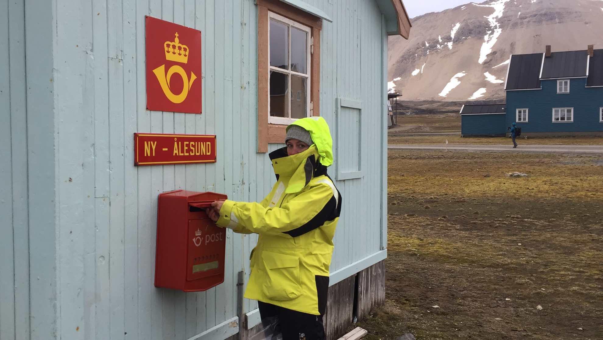 ... das nördlichste Postamt der Welt.