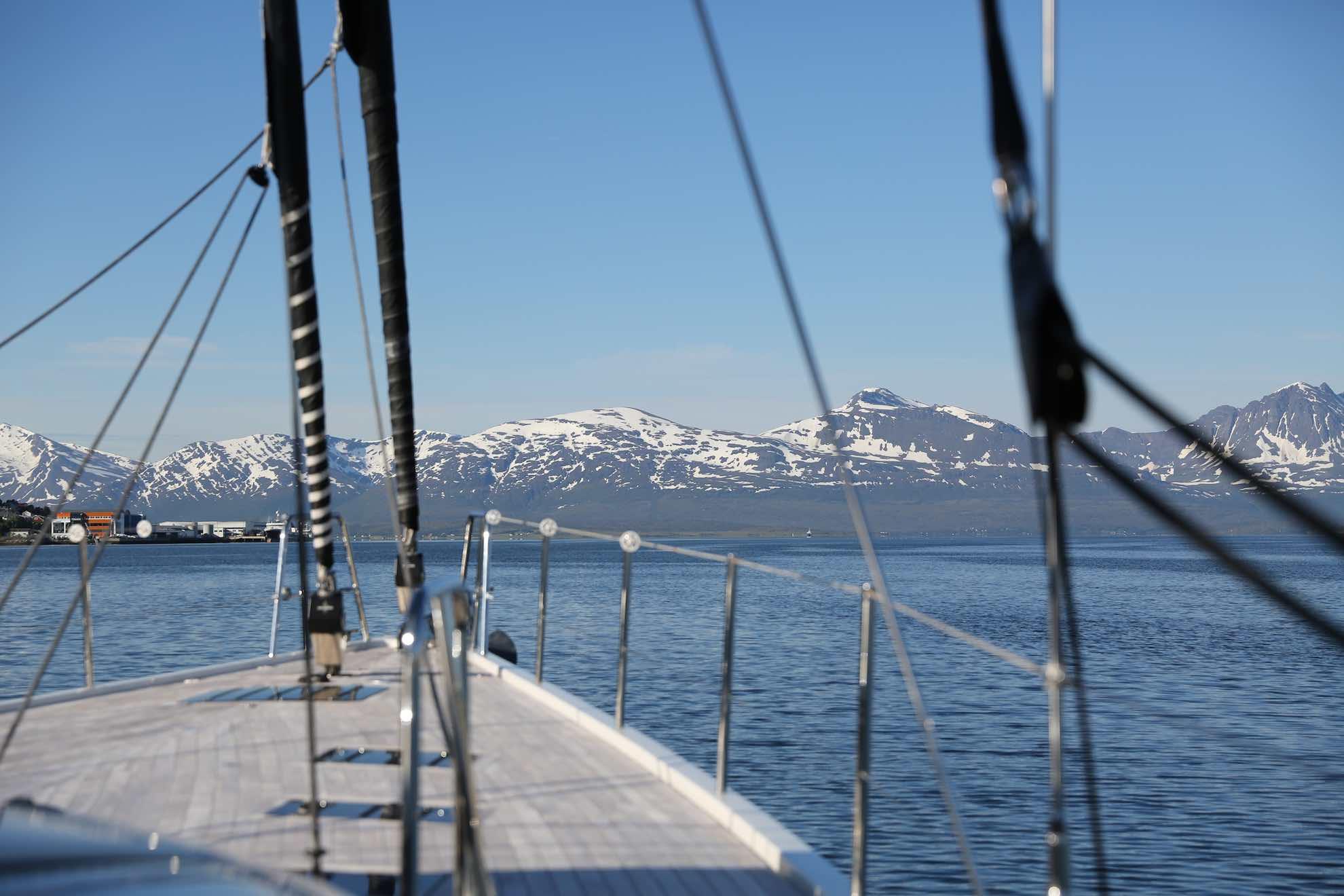 Aufbruch nach Spitzbergen.