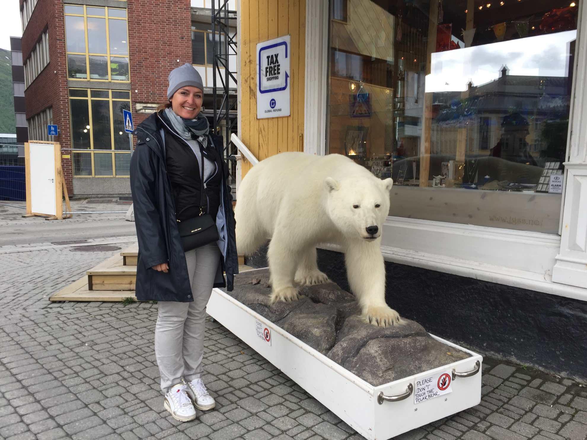 Wir machen eine Erkundungstour in Tromsø