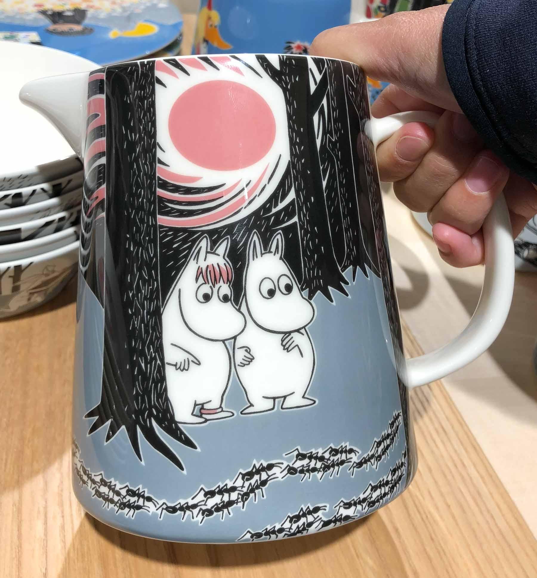 ... sodass man gut mal nach einer hübschen Tasse für ein heißes Getränk Ausschau halten kann