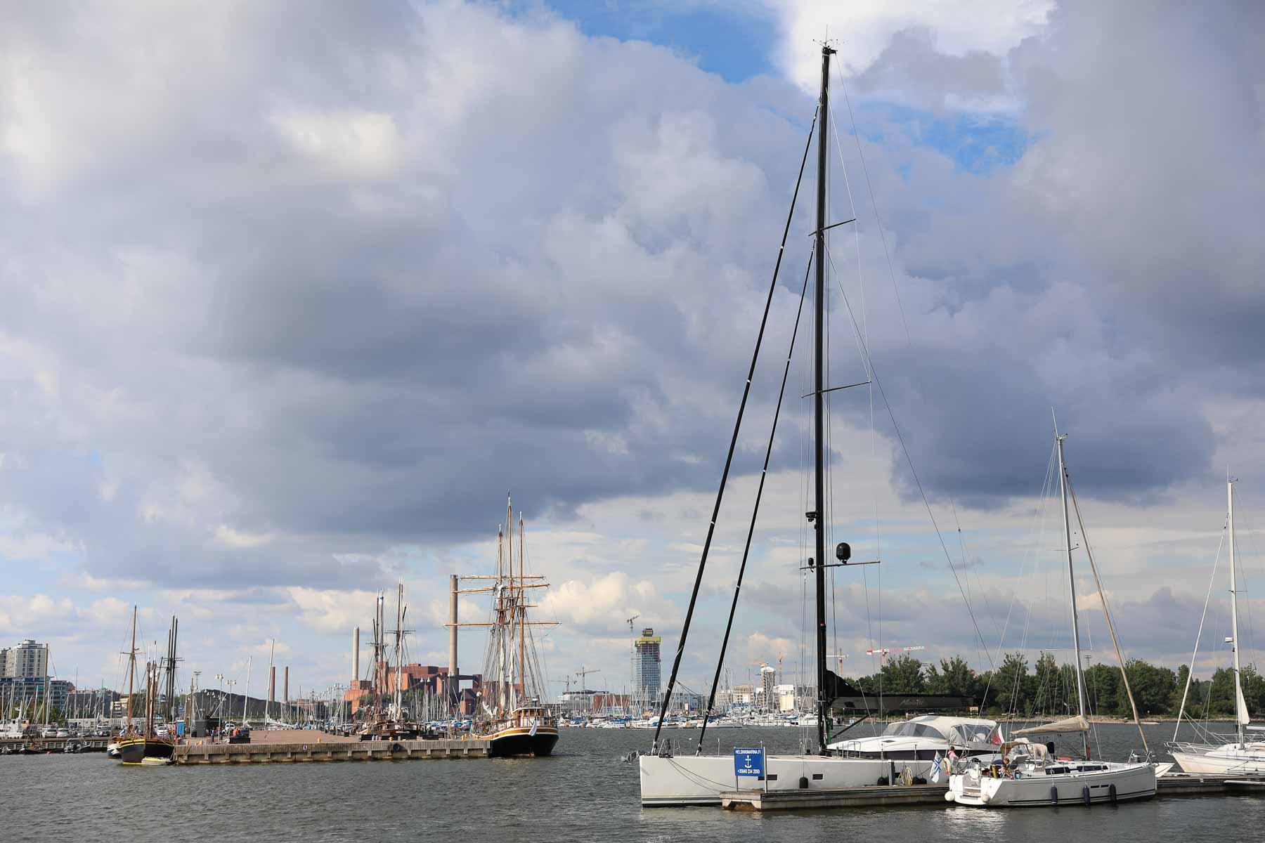 Malaika im Hafen