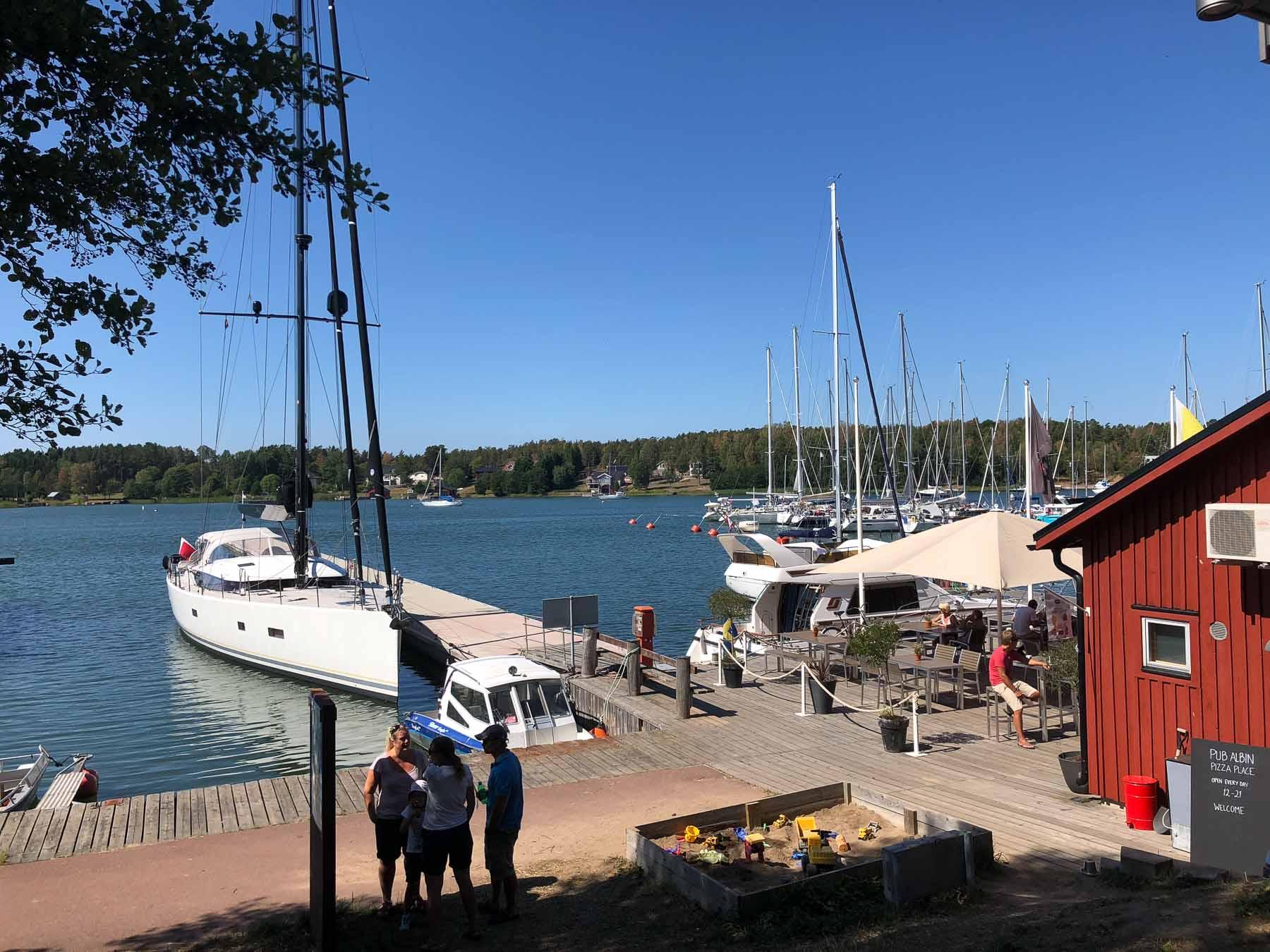 Malaika in Mariehamn