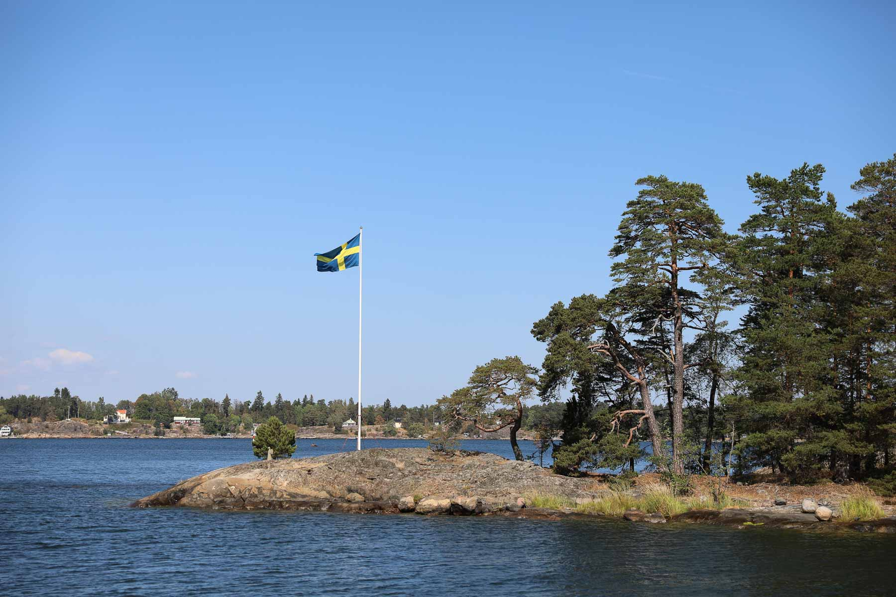 ... und trifft die Hinweise: Wir sind in Schweden