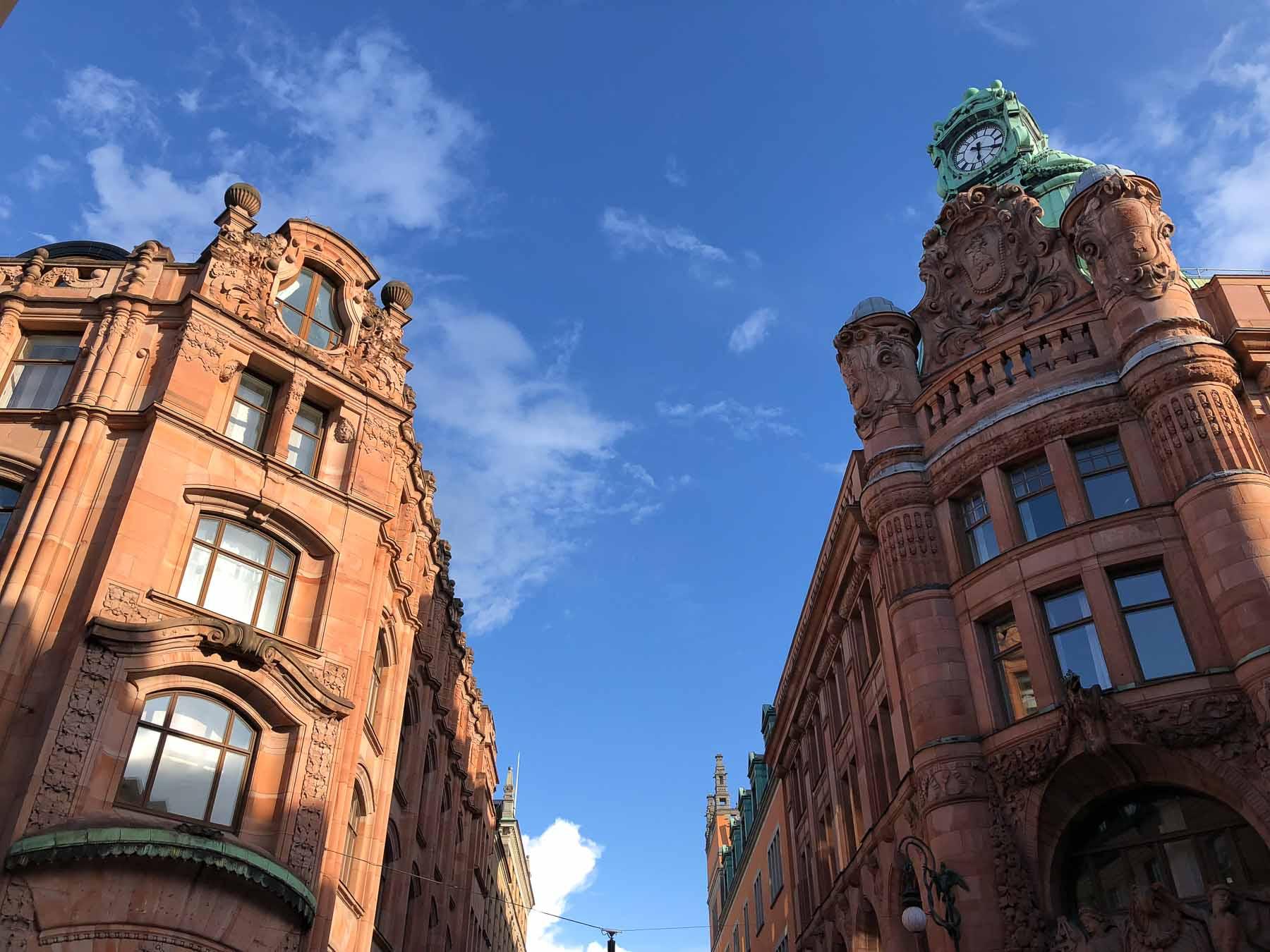 Nach einem schönen Tag in Stockholm...
