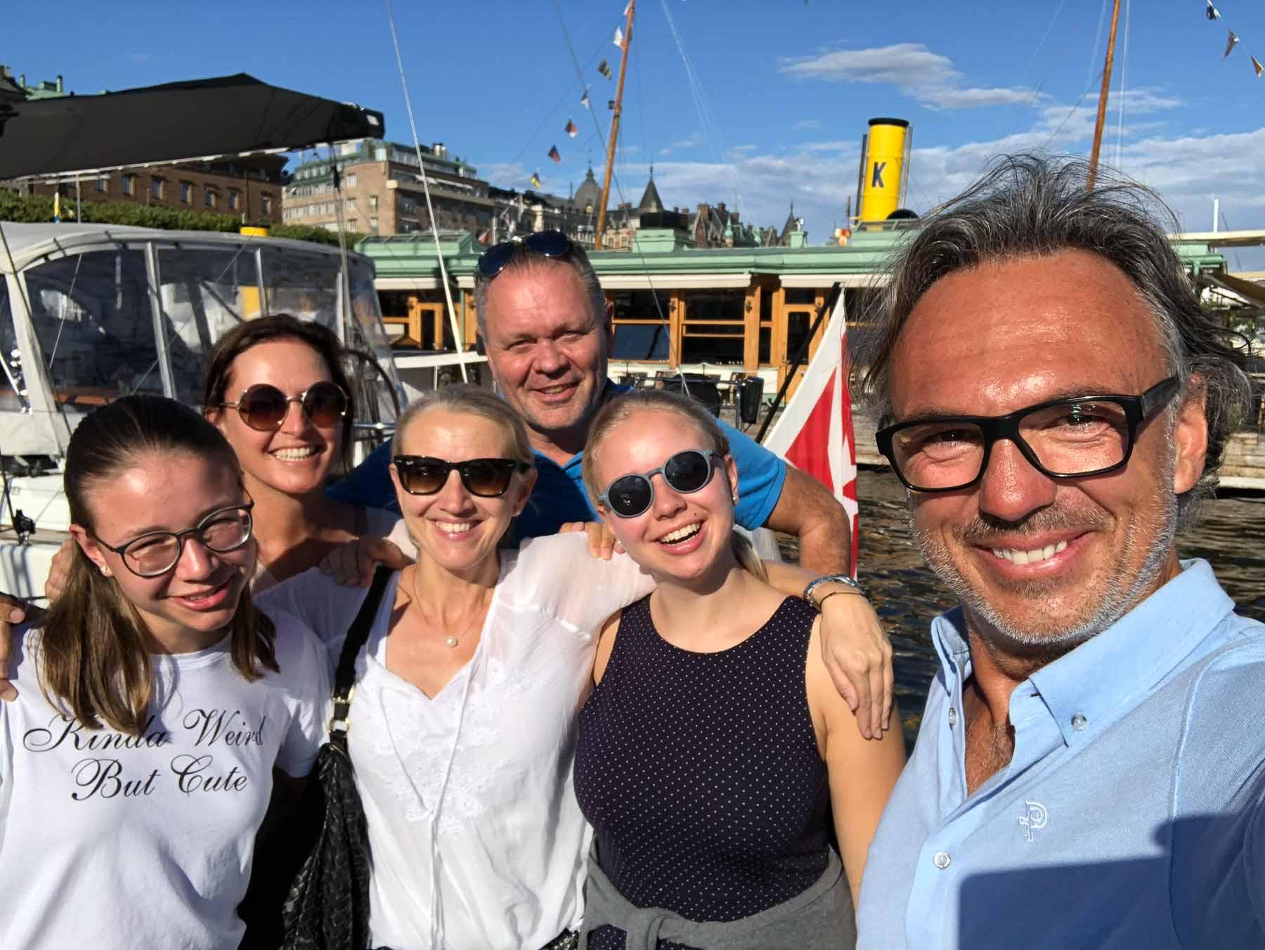 Wir freuen uns, dass Familie Kießling an Bord kommt