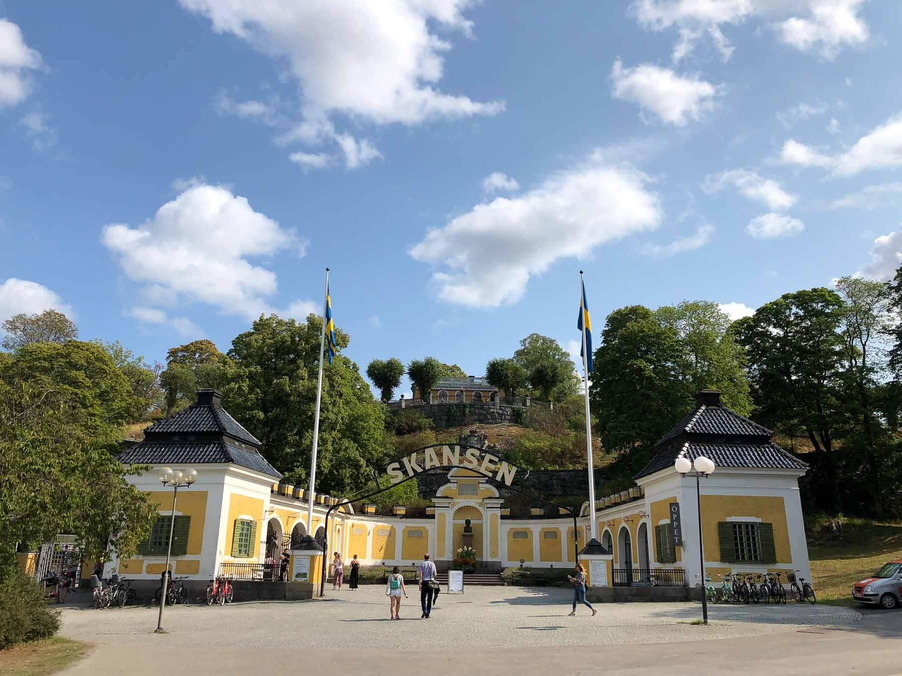 ... und zeigt Schweden vor der Industrialisierung
