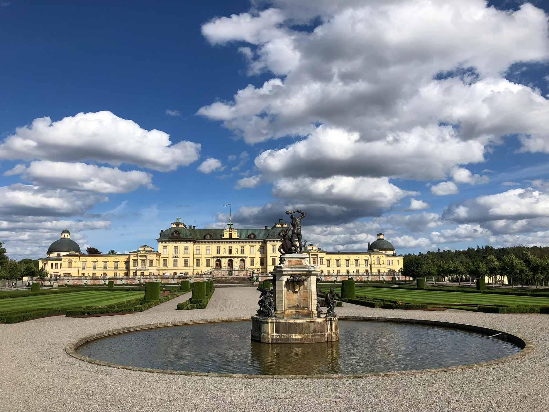 Es ist die Privatresidenz der schwedischen Königsfamilie