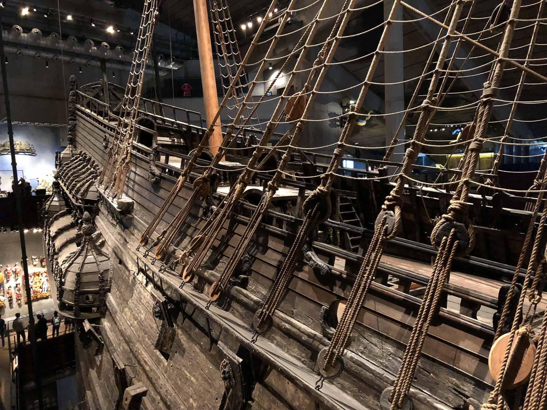 """Die """"Vasa"""" im gleichnamigen Museum"""