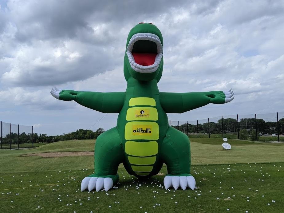 """Come and hit balls at """"Golfzilla""""!"""