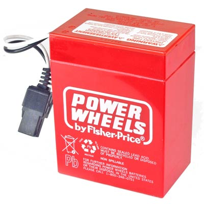 6V Rechargeable - Fisher-Price® Power Wheels® Advanced Series vehicles