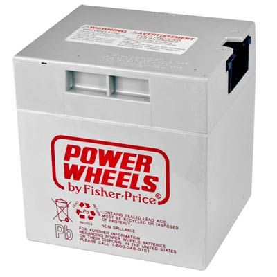 12V REchargeable - Fisher-Price® Power Wheels® Advanced Series vehicles