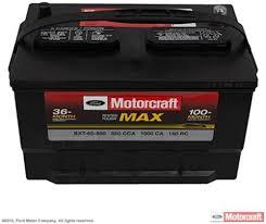 Motorcraft Automotive - OE Motorcraft Batteries available!