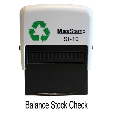 Code: Max1 - MaxStamp Self Inking Stamp 32 x 4mmMember Price:£19.99