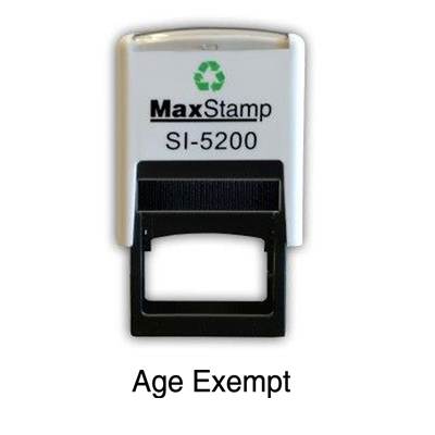 Code: Max5200AE - MaxStamp Self Inking Stamp 22 x 4mmMember Price: £12.89