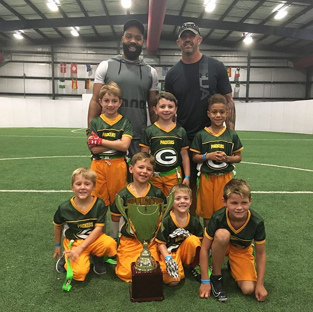 Congrats to all of our youth flag football champions at Playmakers Indoor Sports!!! #nflflag #champions🏆 #covingtonla #playmakersnorthshore