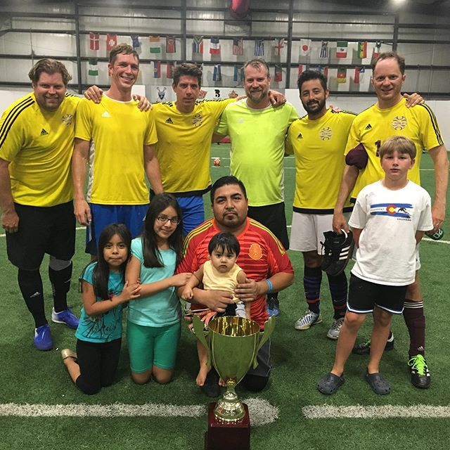 Congrats to Terror FC and Unreal Madrid!!! 🎉🏆⚽️ Terror FC just won our Over 30 Men's Soccer C League, and Unreal Madrid took the trophy in the Men's B League! Interested in joining our Men's Soccer League next season? Call us at 985-898-2809, or e-mail us at info@playmakersnorthshore.com.