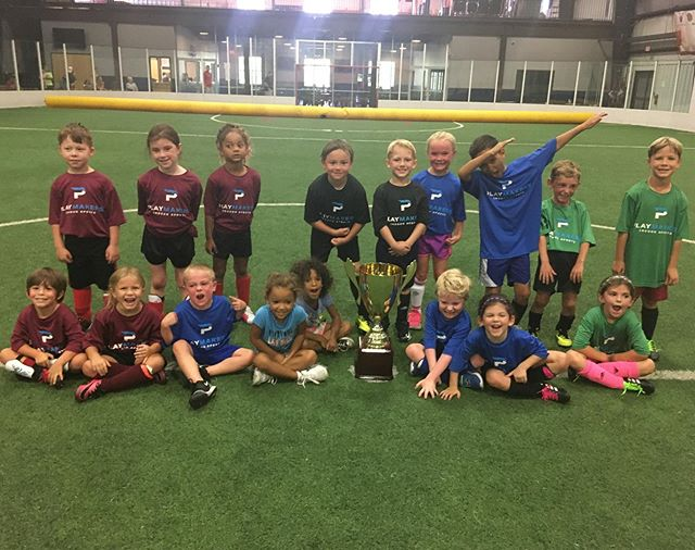 Congrats to all of our youth soccer champions from our summer indoor league!!! 🏆⚽️🎉👏 We had a great season at Playmakers, and we hope to see everyone back for our winter leagues!