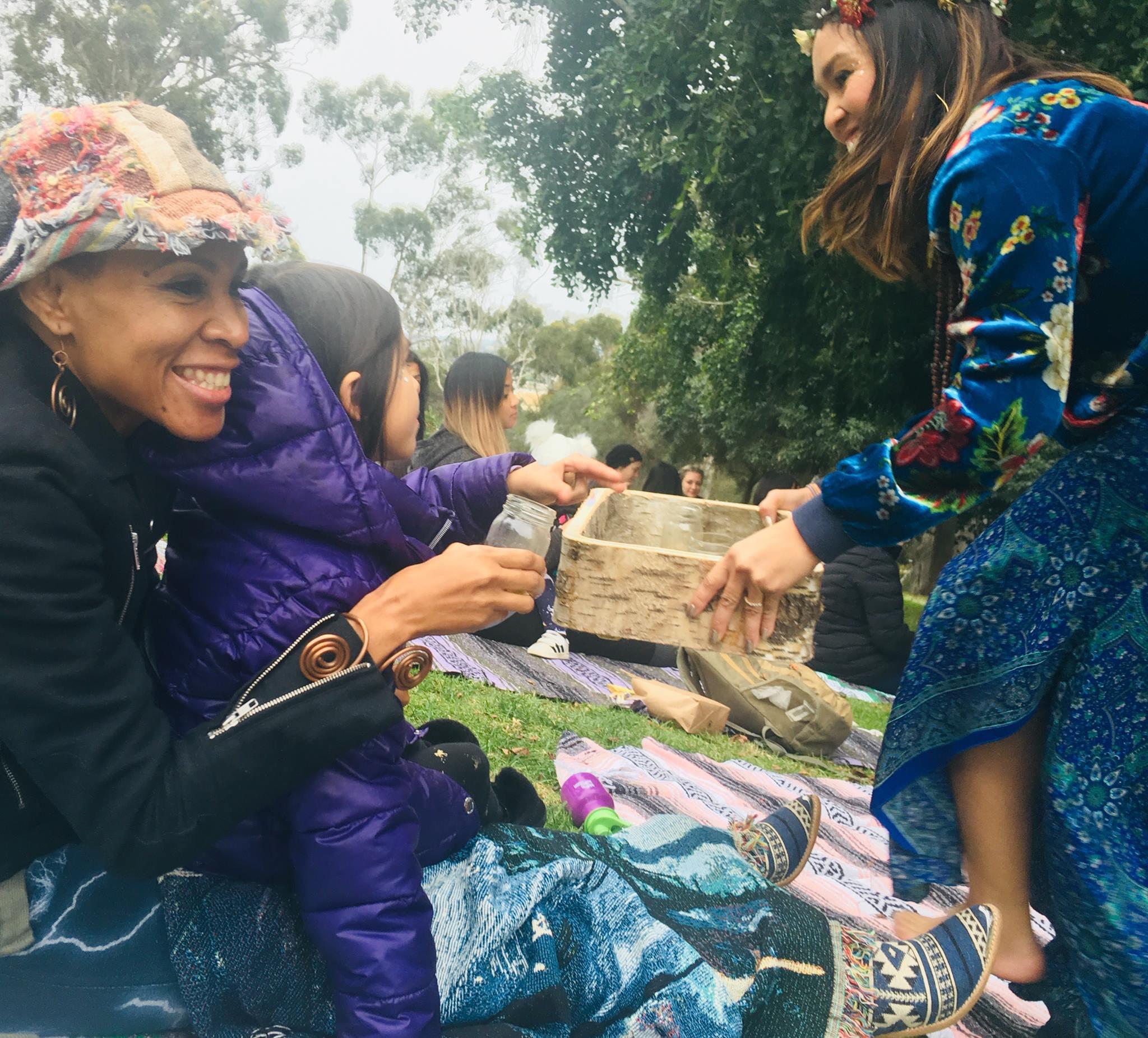 Native Tea Ceremony
