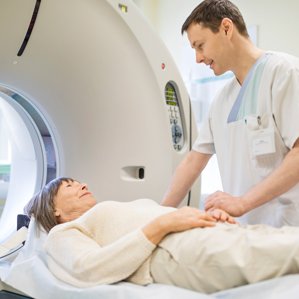 CT - Goes beyond x-ray to utilize computer technology for 3D imaging of organs, bones and structures