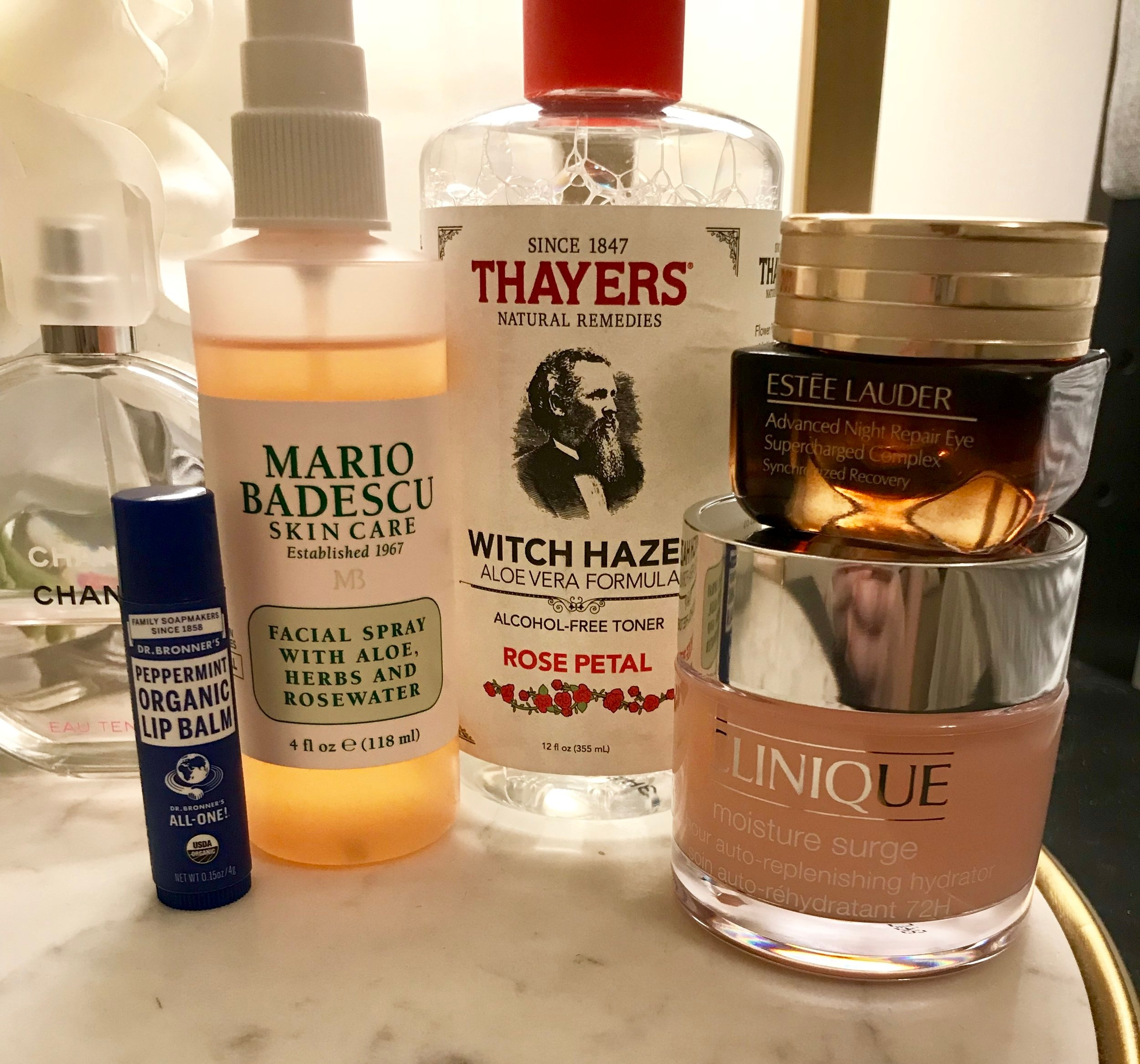 Hydrate with my favorite skincare products for dryness! -