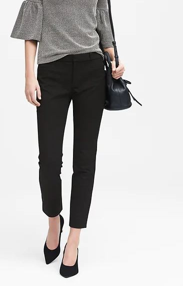 4. Banana Republic Sloan Skinny-Fit Pant - I have these in every color ever. Click here to purchase!
