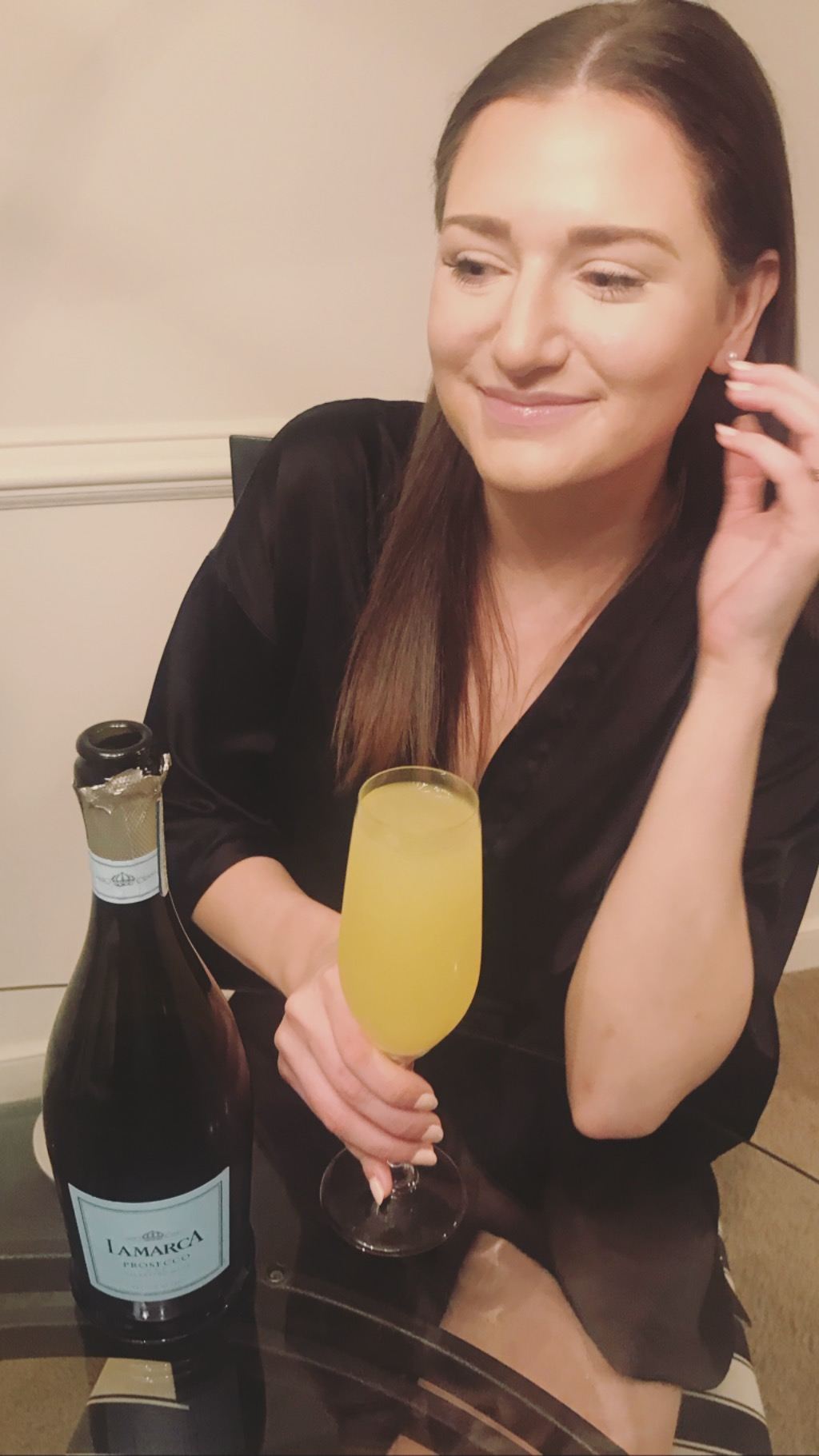 Mimosas for all! - Did you even indulge if prosecco wasn't involved?!