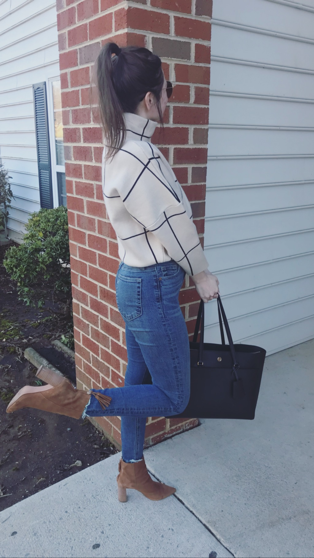 These boots were made for walking! - I love these boots from Banana Republic! I ordered them in fall/winter, right now they're out of stock, but I've seen them peep back in stock a time or two since I've purchased.