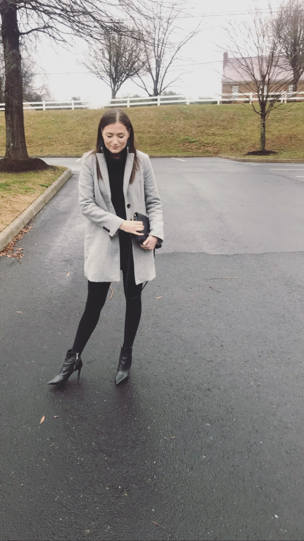 Black leather is my second love language. - These Michael Kors boots fell straight from fashion heaven and into my closet.