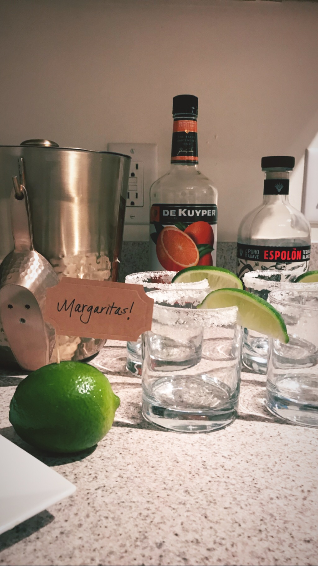 Homemade Margs. - I don't give away all my secrets, but who has time to squeeze enough fresh limes for margs? Not me. But here's the next best thing: Nellie & Joe's Key West Lime Juice.