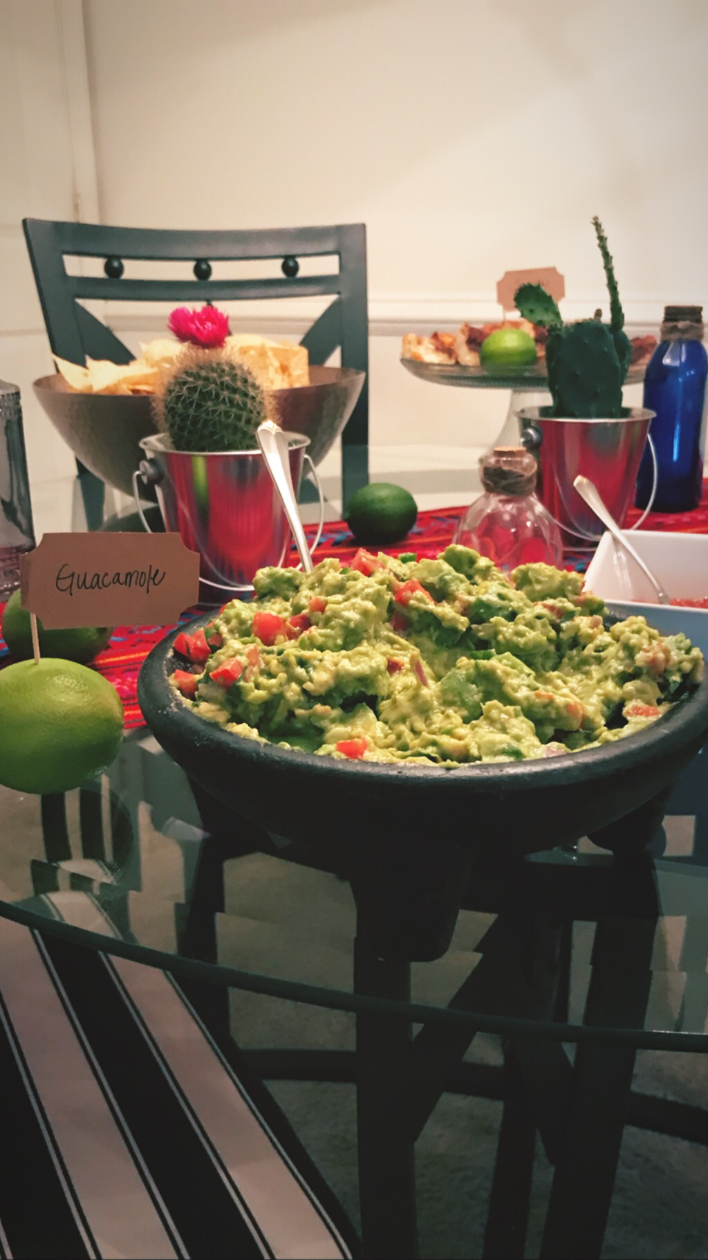 And the Most Important Part: Guacamole! - I've shared my perfect guacamole recipe on instagram, but I'll link here…soon. (: