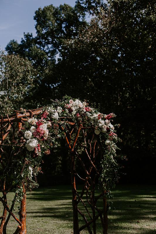 Wedding Ceremony Floral Arch