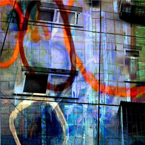 "Apartment Facade, chromogenic print, 42' x 42"", 2010"