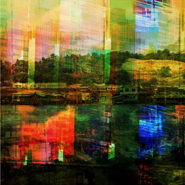"Brunei Lost, chromogenic print, 42' x 42"", 2010"