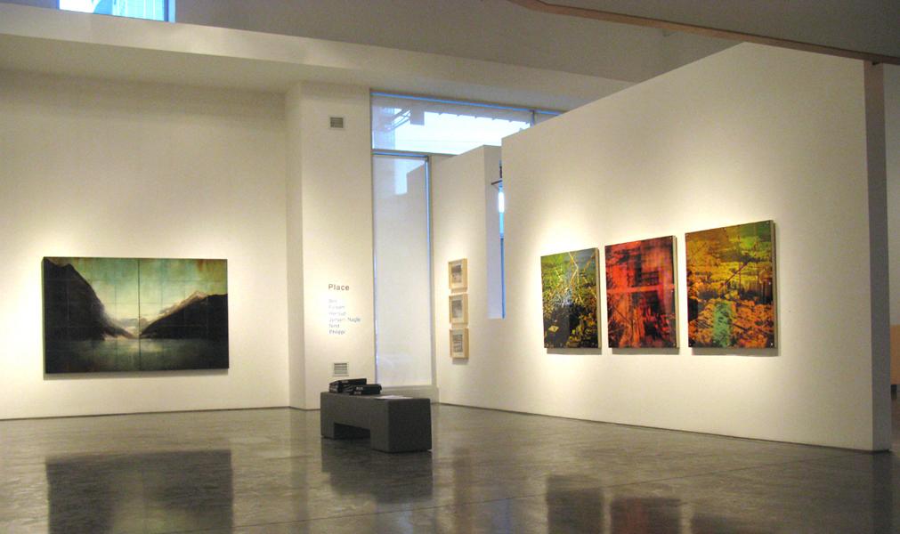 Lost Dimension, installation shot,  Newzones Gallery of Contemporary Art, Calgary, 2009