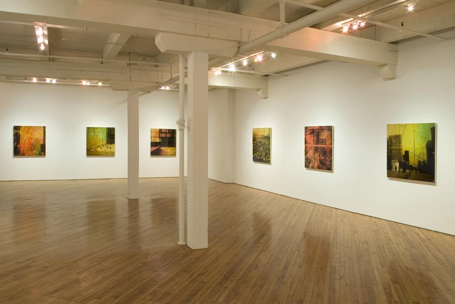 Mnemonic Structures, Installation shot , Leo Kamen Gallery, Toronto, 2008