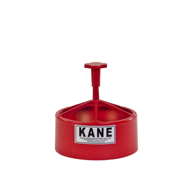 """Kane 9/"""" Snap Pig Feeder for Farrowing Crate Piglets"""