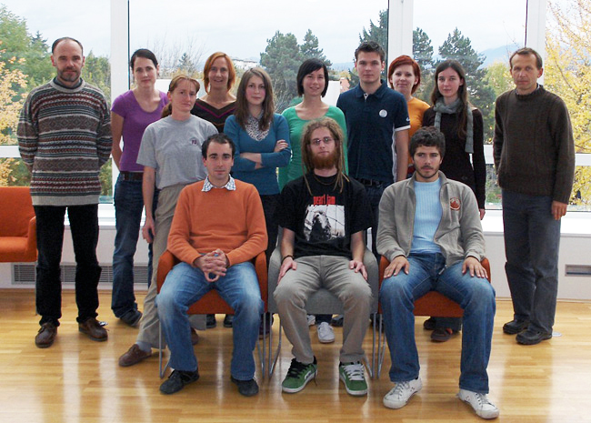 University of Ljubljana's 2007 iGEM Team Slovenia