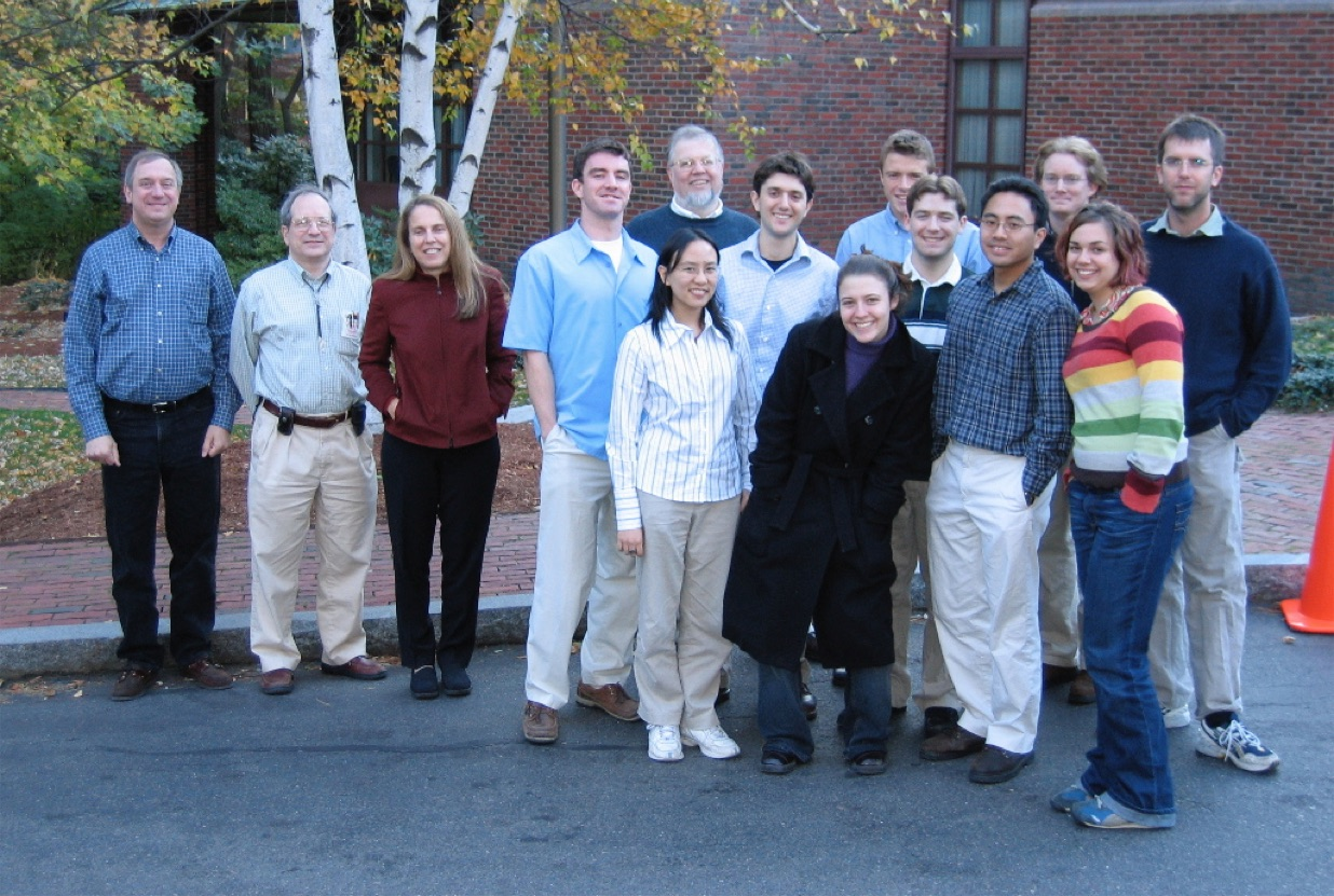 Pictured: Founders of iGEM and Ginkgo Bioworks along with 2004 MIT iGEM Team