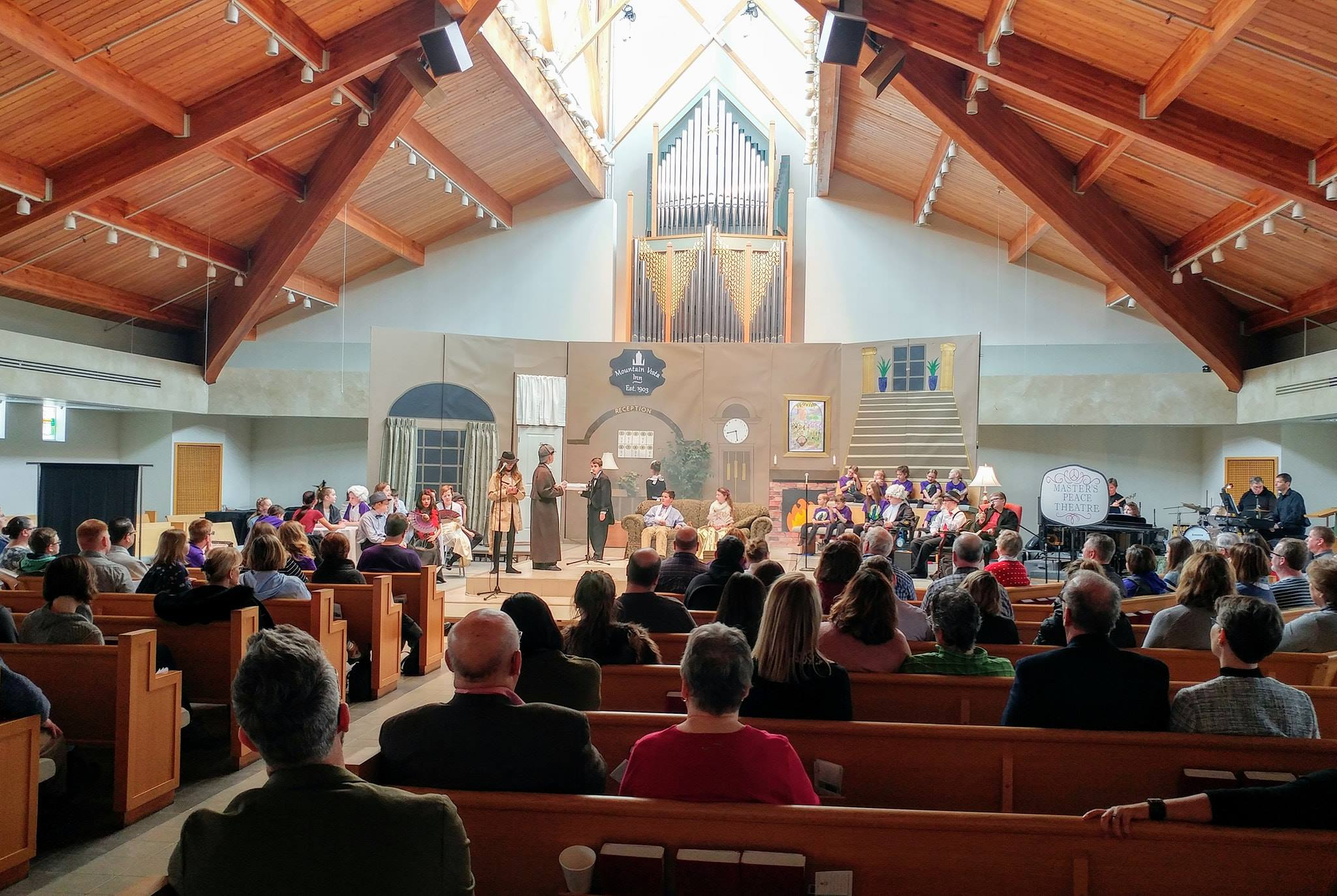 A Not So Terrible Parable, the 32nd Annual Children's Musical packed the sanctuary in February 2019.