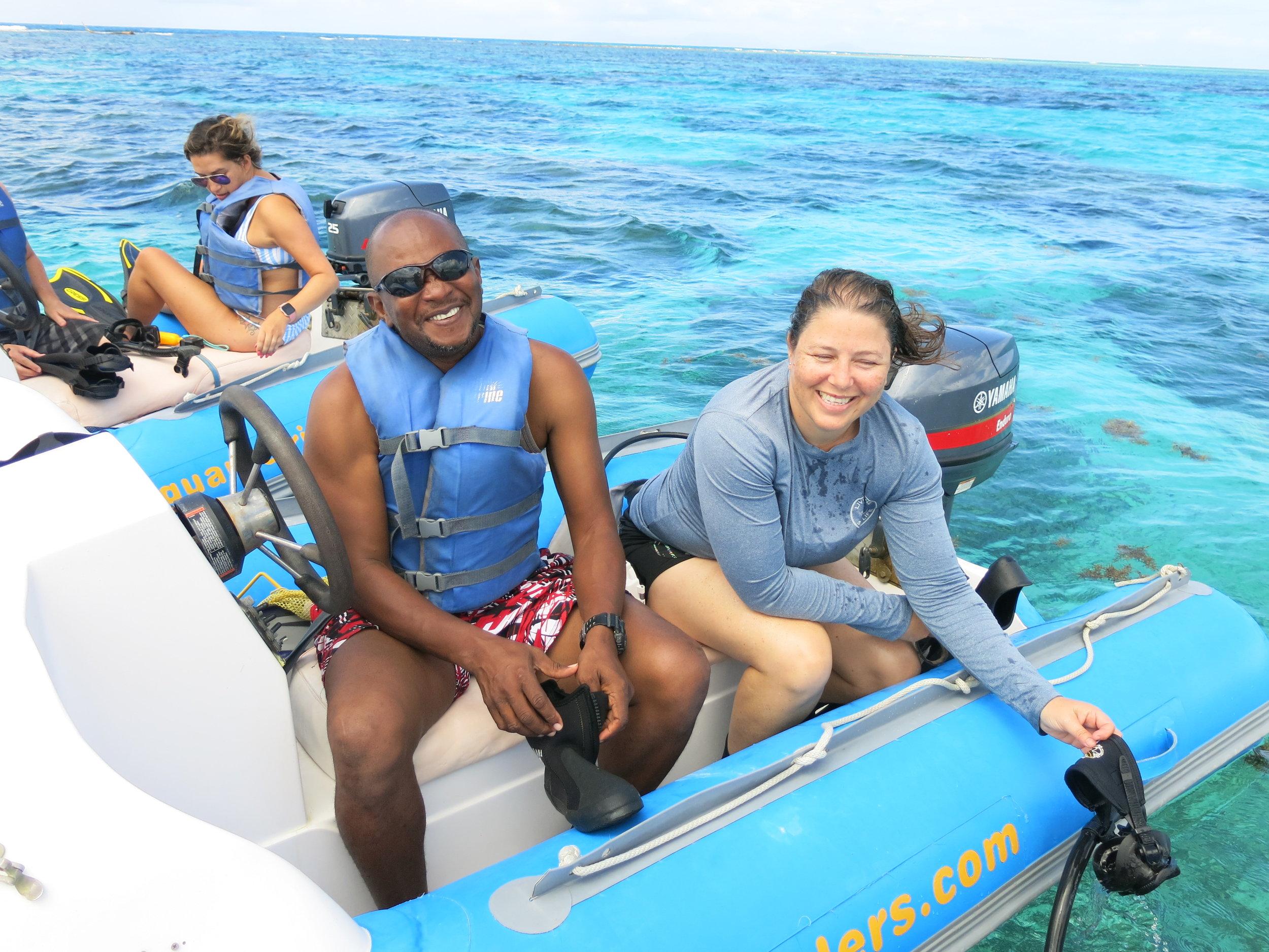 Green Fins Assessors in Antigua.JPG