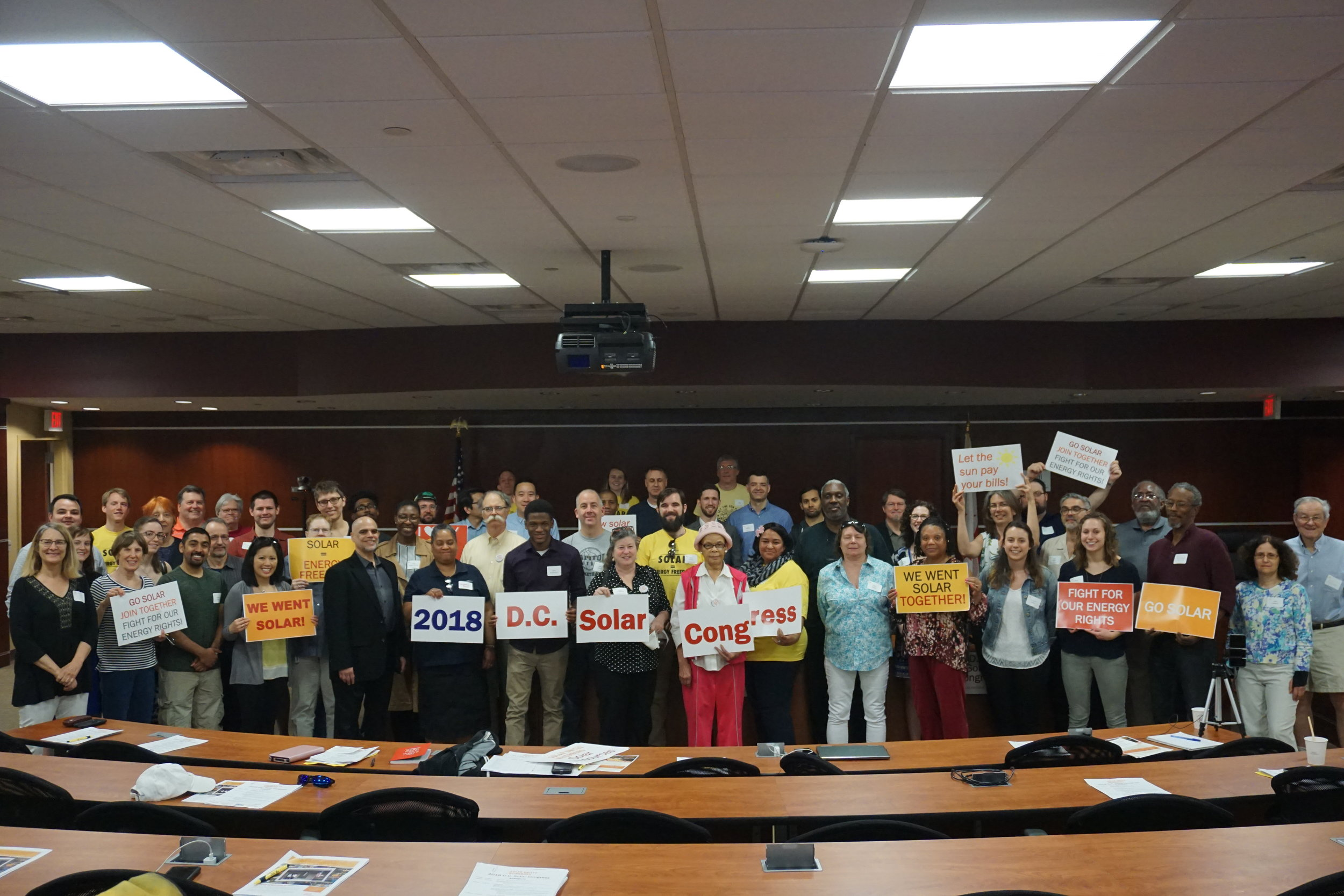 Photo Credit: Solar United Neighbors of their 2018 DC Solar Congress event