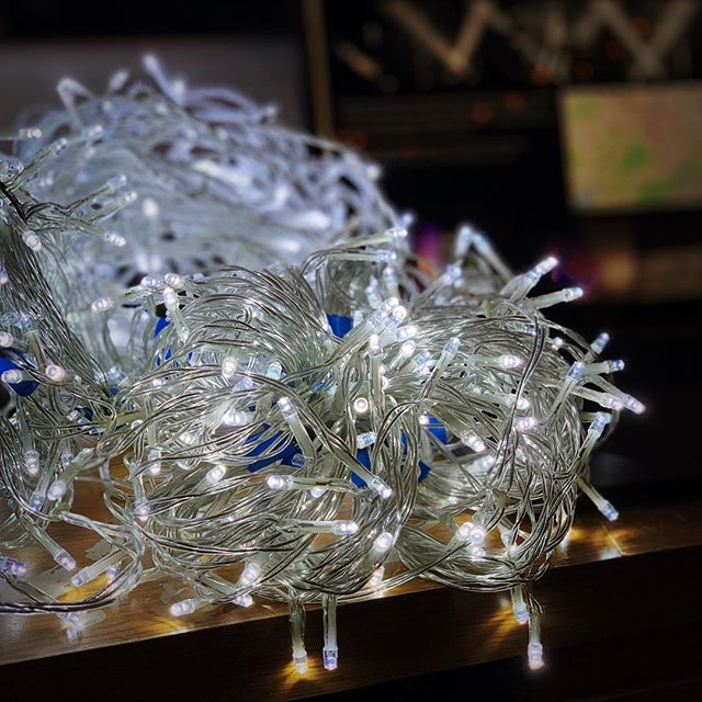 It's the time of year that we do more then just stage production. For all your Christmas lights needs (both cool and warm white) #christmas #lights #lighting #lightingdesign #fairylights #christmaslights