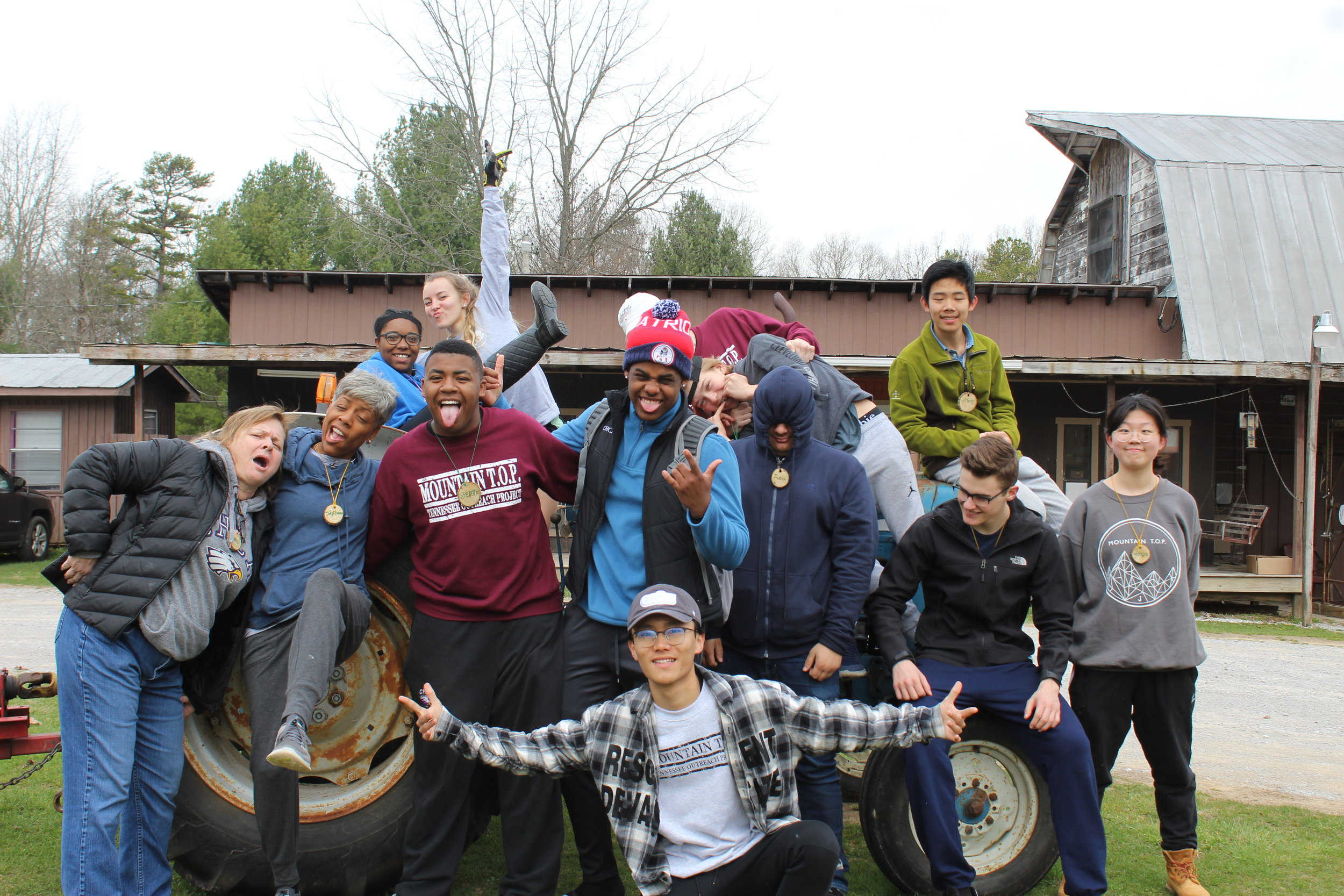 In 2018,128 Groups served on the Mountain -