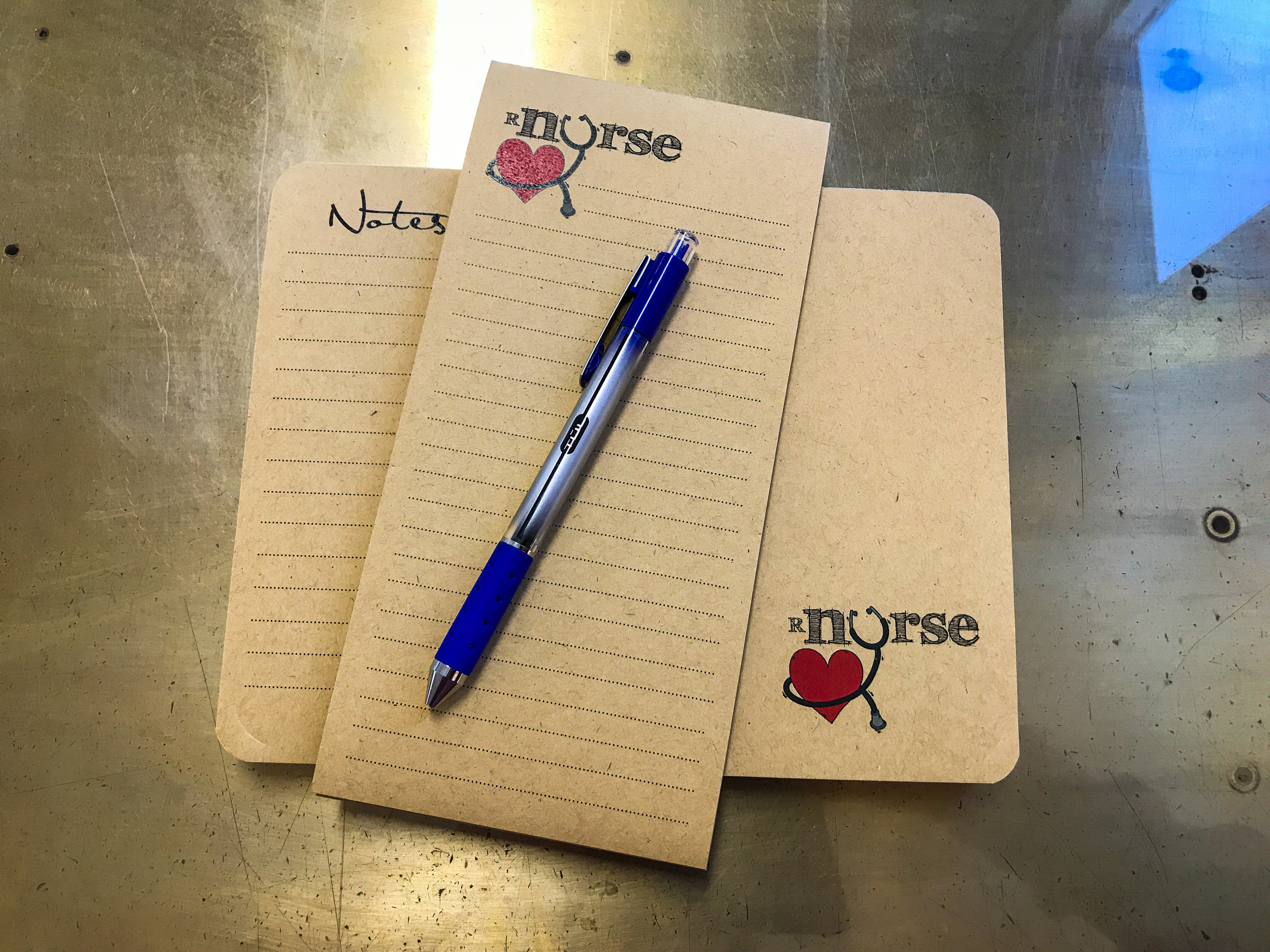 Flip-It notepad sets - Super handy with a weekly planner on the flip side to keep you on track all week. As an added bonus is the tall and skinny comes with the flip it!