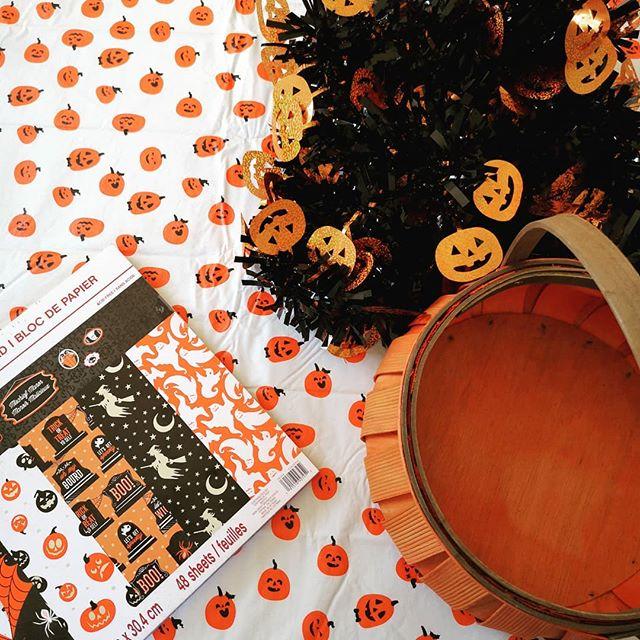 Let the Hallowe'ening begin! 🎃